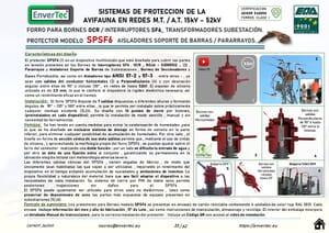 SPSF6 PROTECCIONES AVIFAUNA ENVERTEC