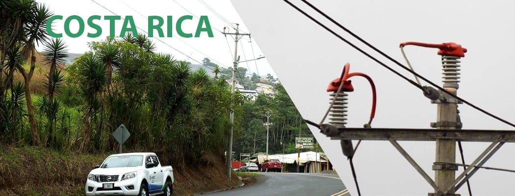 Visita  Costa Rica_  Inspección de Instalaciones corregidas con Protectores Avifauna CAON-KORWI®.