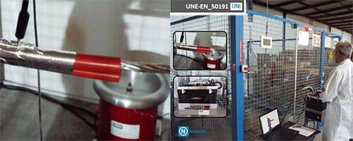 Nuevo Laboratorio interno de Ensayos de Alta Tensión 100kV