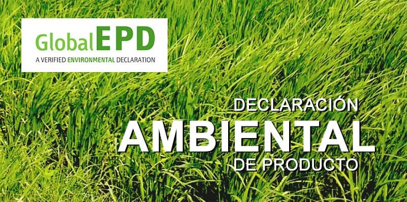 Declaración Ambiental de Producto